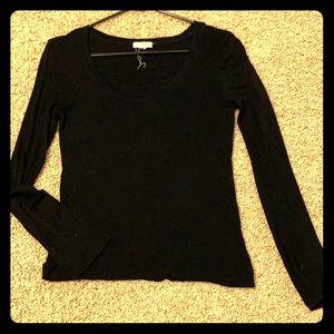 L black long sleeve